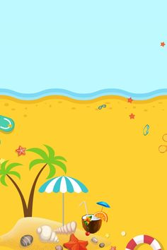 Summer summer beach lifebuoy Summer Background Images, Background Search, Summer Backgrounds, Leaf Background, Colorful Backgrounds, Lifebuoy, Summer Wallpaper, Creative Posters, Background Templates