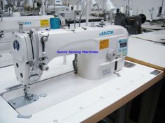 Jack JK-Shirley IIE Automatic Single Needle Lockstitch Sewing Machine