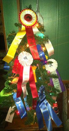 Horse show tree!