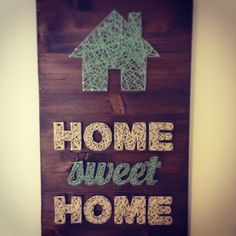 Home sweet Home string art by montstore