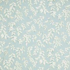 Laura Ashley Lockwood Print Cotton/Linen Curtain Fabric