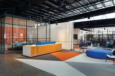 """Kennards self storage head office is """"a series of spaces within a space."""""""