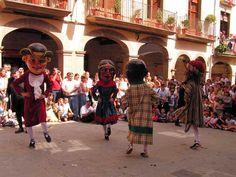 Els Nans a la Festa Major de Solsona (setembre)