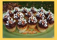 Almond & Chocolate Turkey Toppers!~ A Blog Tutorial