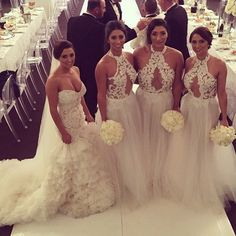 See, I can appreciate a bride who allows and wants her bridesmaids to slayyy almost as much as she does without out shining her