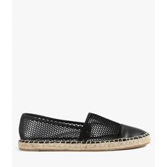 Circus by Sam Edelman Lena Espadrille ($45) ❤ liked on Polyvore featuring shoes, sandals, denim, espadrilles shoes, flat shoes, rubber sole shoes, circus by sam edelman and flat sandals