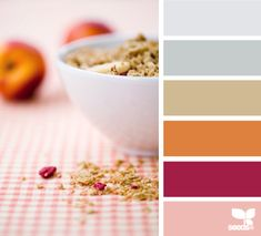 breakfast tones by @Design Seeds - would love it in a quilt!