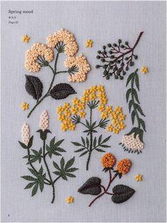new brazilian embroidery patterns Hand Embroidery Patterns Flowers, Embroidery Flowers Pattern, Hand Embroidery Stitches, Embroidery Hoop Art, Hand Embroidery Designs, Cross Stitch Embroidery, Embroidered Flowers, Vintage Embroidery, Geometric Embroidery
