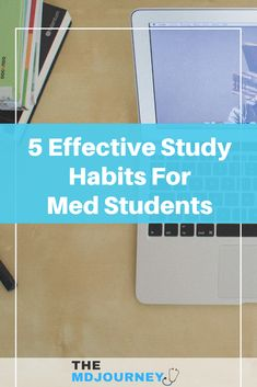 Want to learn how to study better in med school? First learn the top study habits of effective med students as well as pre-meds. Check out this post to learn how!