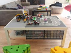 Fascinating Lego Table With Storage