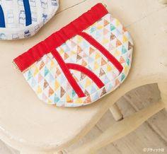 おもしろい&かわいい!ブリーフパンツのバネ口ポーチの作り方   ぬくもり Pot Holders, Handicraft Ideas, Spring, Cute, How To Make, Pouch, Bags, Coin Purses, Handbags