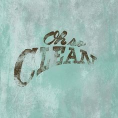 Oh so clean __ Hand Lettering by [ts]Christer