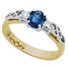 wedding ring/engagement ring