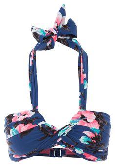 ¡Cómpralo ya!. Seafolly VINTAGE VACATION  Parte de arriba bikini french blue. Seafolly VINTAGE VACATION  Parte de arriba bikini french blue  Ofertas   | Material exterior: 87% nylon, 13% elastano | Ofertas ¡Haz tu pedido   y disfruta de gastos de enví-o gratuitos! , bikini, bikini, biquini, conjuntosdebikinis, twopiece, trisuit. Bikini  de mujer color azul marino de Seafolly.