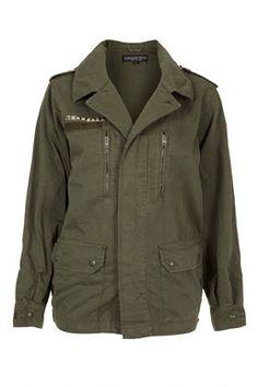Petite Eagle Army Jacket