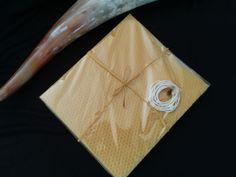 Kerzen - 5 Bienenwachsplatten 20 x 17,5 Bastelset C, Kerzen - ein Designerstück von Imkerei-Hedi-Scheulen bei DaWanda
