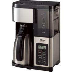 Zojirushi EC-YSC100-XB Fresh Brew Plus Thermal Carafe Coffee Maker, 10-Cups