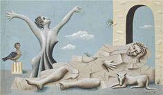 Les Métamorphoses - Jean Hugo. 1929.  Surrealism. Symbolic painting.