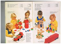 Vintage toys from the summer 1975 Mothercare catalogue
