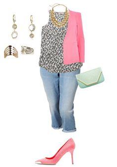 What Should Plus Size (Curvy) Women Wear in the Summer 2015 (5)