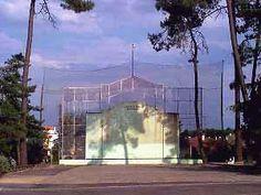 Fronton de pelote Basque à Dax dans les Landes