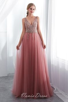 Dusty Pink V Neck Side Slit Beaded Long Evening Prom Dresses, Cheap Custom Sweet 16 Dresses, 18519 Dusty Pink V Neck Aspect Slit Beaded Lengthy Night Promenade Attire, Low cost Customized Candy 16 Attire, 18519 Prom Dresses Long Pink, Sweet 16 Dresses, Backless Prom Dresses, Tulle Prom Dress, Homecoming Dresses, Lace Dresses, Formal Dresses, Bridesmaid Dresses, Bride Dresses