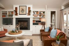Walls are Sherwin Williams Worldly Gray and cabinets are White Dove
