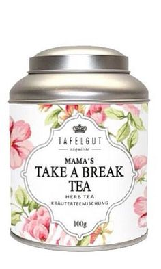 Mama's Take A Break Tea.... I need this every day! ;) LOL ~Heather