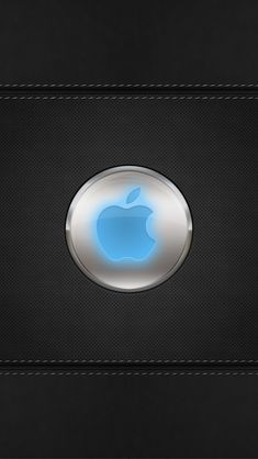 Blue-Glow-Apple-Logo Apple iPhone 5s hd wallpapers available for free download.