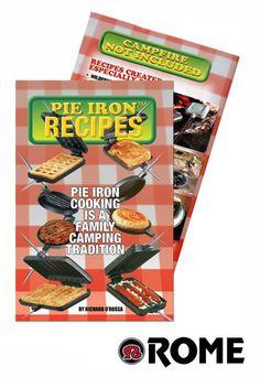 ROME Pie Iron Recipe Book - Buiten kookboeken - De Veldkeuken - QVIST - Qvist Outdoor Cooking