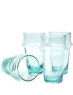 Juice glass. Recycled glass. #sustainable