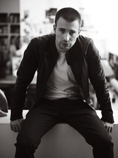 Chris Evans- im not big on white boys but DAMN!!!lol one of my favs
