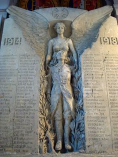 a monument to those who died in the first world warVoltaire, monument aux morts. a monument to those who died in the first world war Cemetery Angels, Cemetery Statues, Cemetery Art, My Demons, Angels And Demons, Old Cemeteries, Graveyards, I Believe In Angels, Angels Among Us