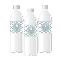 Winter Wonderland Personalized Party Water Bottle Labels. Keep your guests hydrated at your Christmas party with water bottles dressed up with these Personalized Winter Wonderland Water Bottle Labels. Each water bottle label is adorned with an exquisite Winter Wonderland themed design, turning a simple beverage into a fun party accessory! Using labels on chilled bottles? No problem! Our water bottle labels are also available in a durable weather proof material that is not easy to tear, repel…