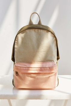 BDG Basic Canvas Backpack - Urban Outfitters