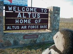 Altus, Oklahoma. Called this place home for a while when my dad was in the Air Force.