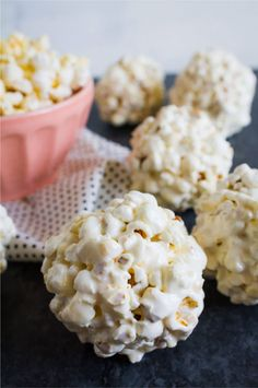 These popcorn balls are so easy to make and with only 3 ingredients. Learn how to make popcorn balls with this recipe that takes minutes.
