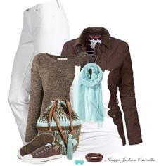 Love this outfit.  To make it pop a little more, I would add some sterling silver jewelry from Silpada.  To find out more, like my page on Facebook.  Sterling Essentials with Ann Mastin.