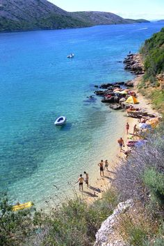 Spiaggia Pudarica ~ Isola di Rab (Arbe) ~ Croazia, Foto di Mara Vezzola