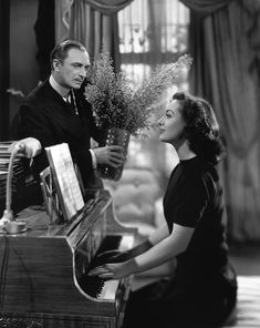 Conrad Veidt and Joan Crawford. A Woman's Face (1941)