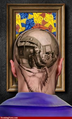 M.C. Escher tattoo *****
