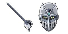 High-speed and accurate humanoid stand - Silver Chariot, and its rapier in a custom cursor from the JoJo's Bizarre Adventure anime series. Yandex, Microsoft, Jojo's Bizarre Adventure Anime, Chrome Web, Jojo Bizarre, High Speed, Silver, Extensions, Drawing Things