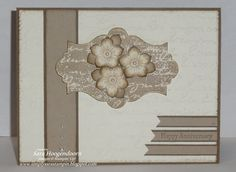 Pretty Petite Petals by shoogendoorn - Cards and Paper Crafts at Splitcoaststampers