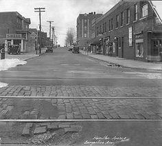 Hamilton Ave. (76th St) in North Bergen,NJ, in 1937