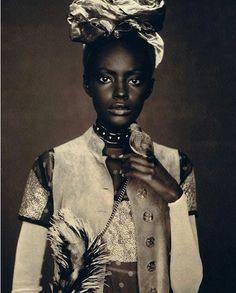 African fashion worn by Ugandan model KIARA KABUKURU
