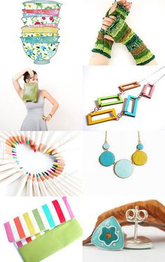 Colorful treasury