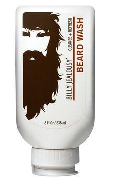 Billy Jealousy Beard Wash | Beard Grooming via The Makeup Lady
