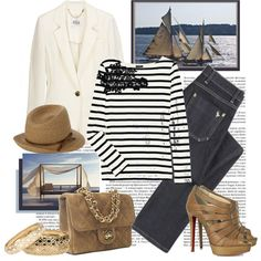 This outfit + The Hamptons = Fabulous Me!