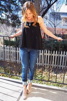MEDIUM WASH STRAIGHT LEG JEAN from GG Boutique Fort Collins