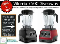 Vitamix 7500 Blender #Giveaway – Canada Only